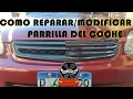 Experimentando modificar parrilla del Honda | Civic Experimental