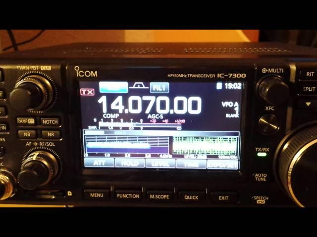 IC-7300 - data modes configuration