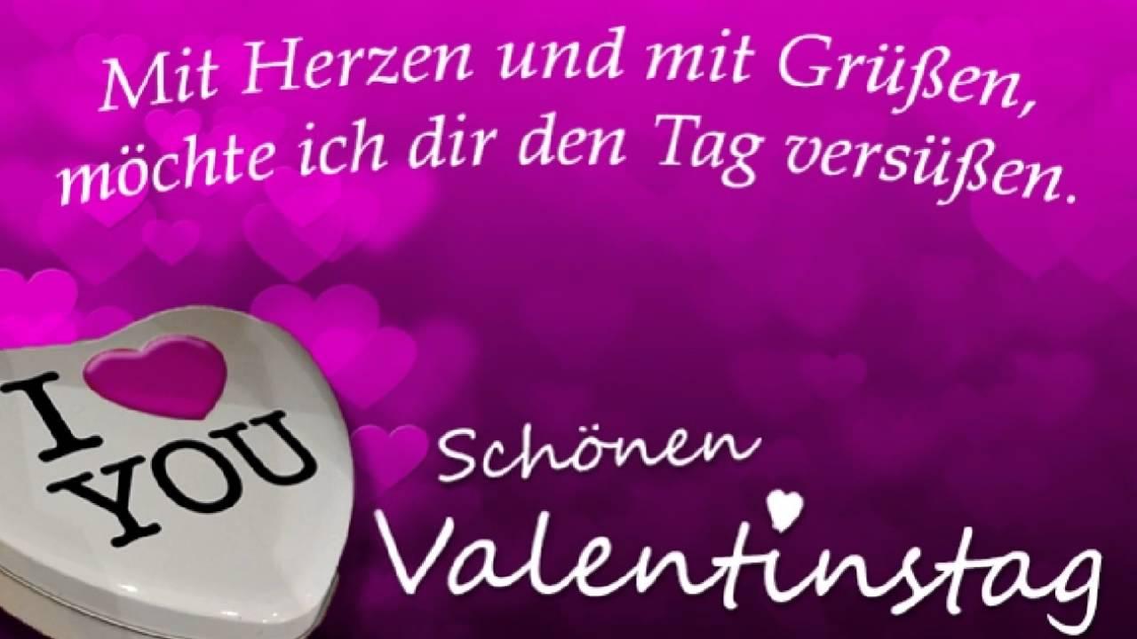 Liebessprüche Zum Valentinstag Youtube