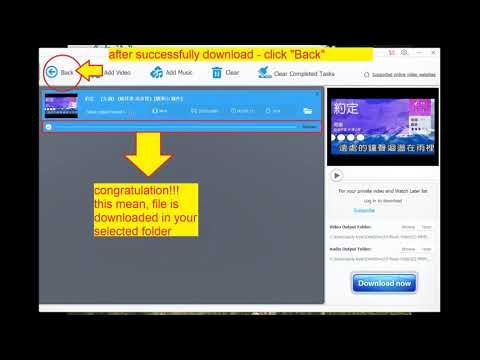 Step-By-Step Download Youtube into MP4/VOB format