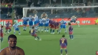 YOU CAN'T STOP HIM!   RONALDINHO GAUCHO ● MOMENTS IMPOSSIBLE TO FORGET REACTION!!!