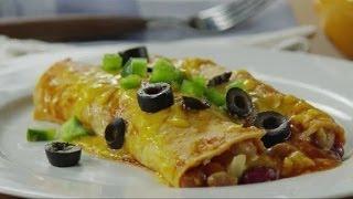 Protein-Packed Bean Enchiladas Recipe