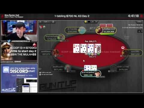 Jason Somerville Flops Quads   PokerStars