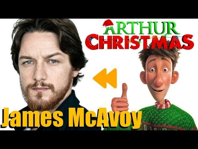 Arthur Christmas Voice Actors And Characters Youtube