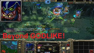 DotA 6.81d - Lion, Demon Witch Beyond GODLIKE !