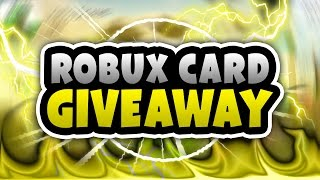 ROBLOX CARD GIVEAWAY | 30,000 SUBSCRIBER GIVEAWAY!