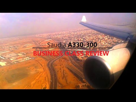 Saudia A330 BUSINESS CLASS Flight Report:SV755 Hyderabad to Jeddah |MidEast Aviation|1080p
