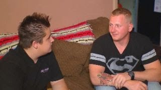 US soldier dives in river to save drowning teen