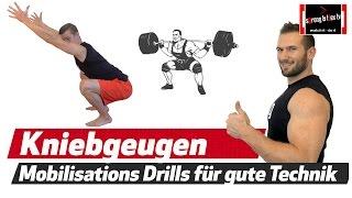 Mobility Drills für die perfekte Kniebeugen Technik