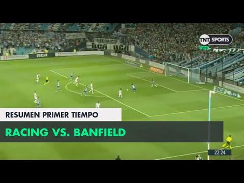 Resumen Primer Tiempo: Racing vs Banfield | Fecha 13 - Superliga Argentina 2018/2019