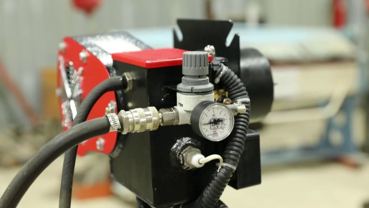 Горелка на отработанном масле Ставпечь ГНОМ ECO JET 5-20 кВт