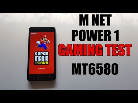 M-Net Power 1 GAMING test/Android games/Cheap Android 7 smartphone MT6580
