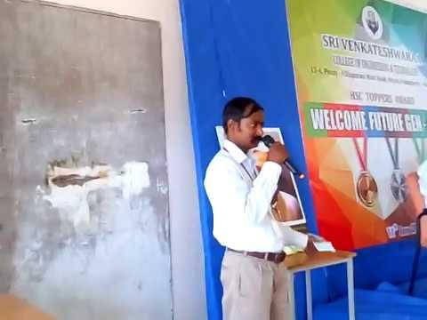 Welcome FutureGen-2016,  by Prof T. Balasundaram