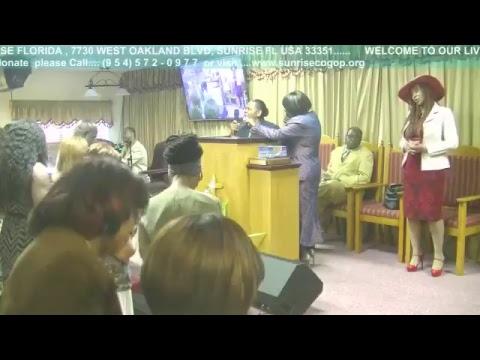 SUNRISE CHURCH OF GOD OF PROPHECY