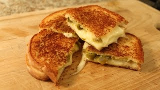The Best Grilled Cheese Sandwich - Gruyere + Jalapeno