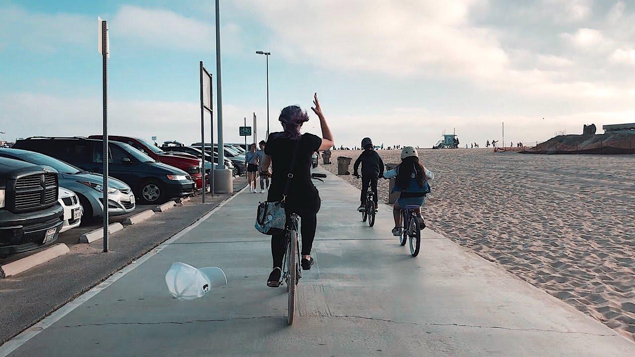 Zhiyun Smooth 4 Santa Monica Bicycle Ride