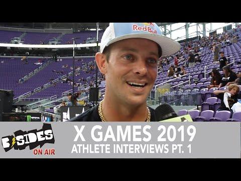 X Games 2019 - Athlete Interviews: Ryan Sheckler, Ryan Williams, Lizzie Armanto