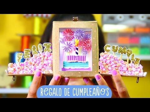 Regalo bonito: Caja cumpleañera HAPPY BOX...