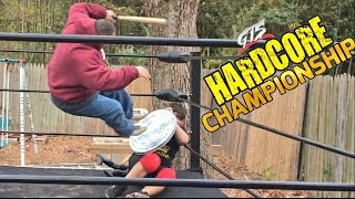 CRAZY GUY TAKES INSANE RISKS IN CHAMPIONSHIP WEAPONS WRESTLING MATCH!