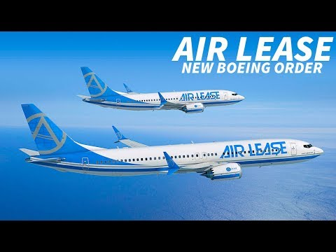 AIR LEASE Sign for 78 NEW BOEING Aircraft