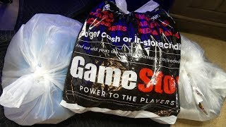 EMPLOYEES Left ME More LOADED BAGS!!! Dumpster Dive Gamestop Night #716