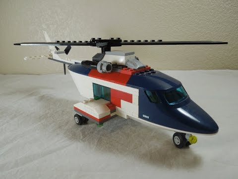 How To Make A Lego Helicopter Instructions