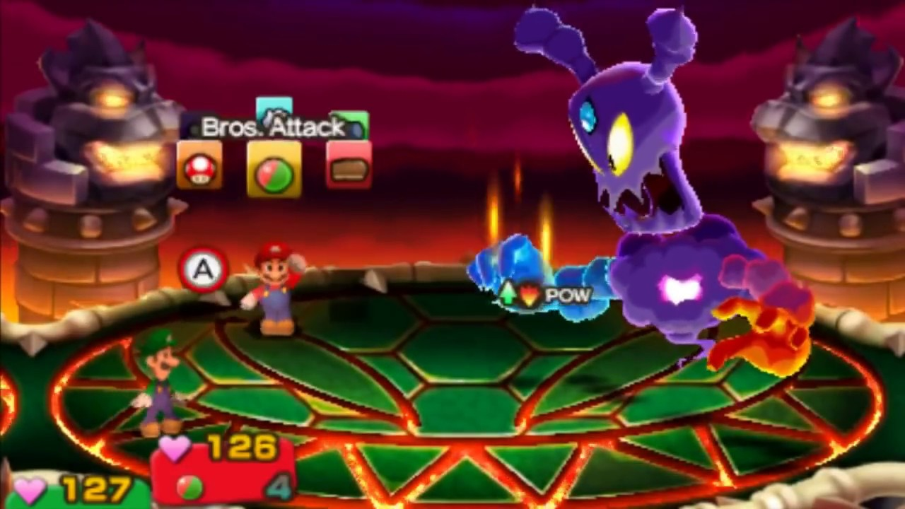 Mario And Luigi Superstar Saga Bowser S Minions Bowletta And Cackletta Soul Battle