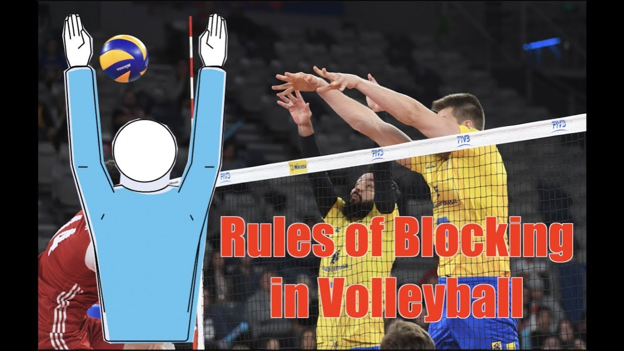 Rules Of Blocking In Volleyball How To Block Youtube