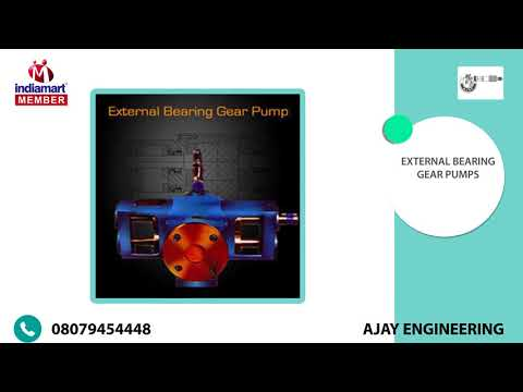 Rotary Gear Pumps And Assembly by Ajay Engineering, Vadodara