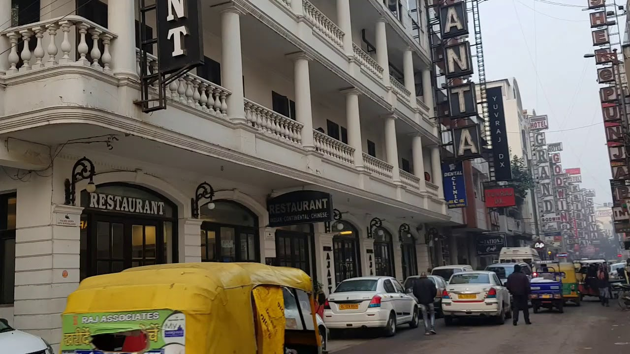 Ajanta Hotel At Delhi India January 2019