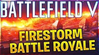 Battlefield 5 Firestorm BATTLE ROYALE Gameplay and Impressions