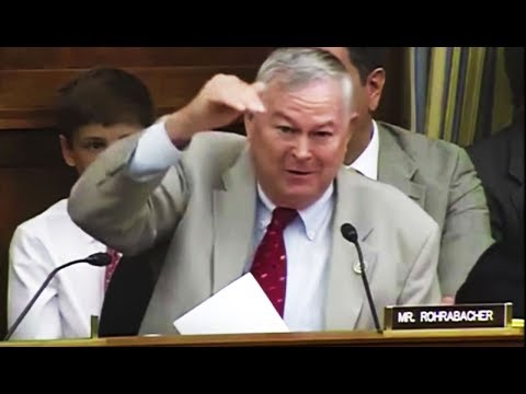 Rep. Dana Rohrabacher Wastes NASA's Time With the Most INCREDIBLY STUPID QUESTION YOU'VE EVER HEARD
