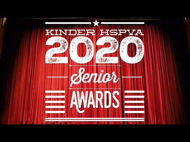 Kinder Hspva 2020 Senior Awards Ceremony Youtube