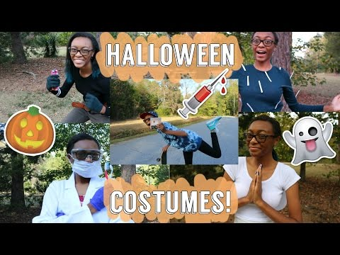 8 Unique Last Minute Halloween Costumes!!