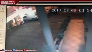 Haber spikeri Gökhan Taşkının arkadaşını vurma anı kamerada