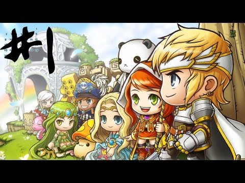 MAPLE STORY [1] | Intro & Charaktererstellung – Let's Play Maple Story