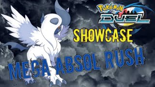 Showcase Mega Absol Rush Pokemon Duel