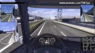 Scania Truck Driving Simulator maxed out [HD] Gameplay 1