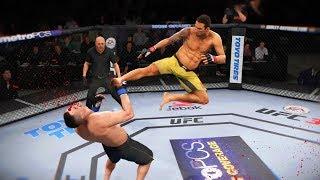 ОТРЫВАТЬ КОНЕЧНОСТИ в МИРОВОМ ТОП 10 UFC 3 RANKED