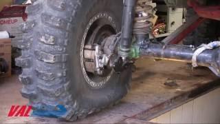 ВАЛ РЕЙСИНГ  Установка системы автоматической подкачки  колес УАЗ
