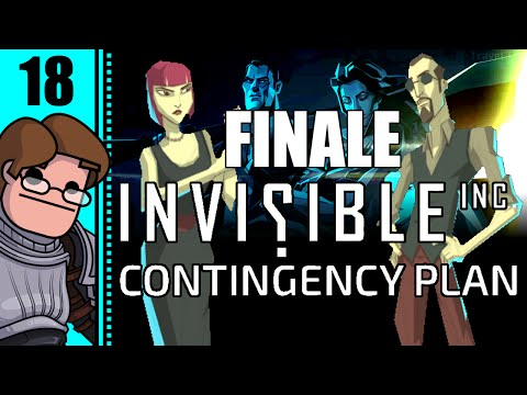 Let's Play Invisible, Inc. Contingency Plan Part 18 FINALE - Day 7: Omni Mainframe