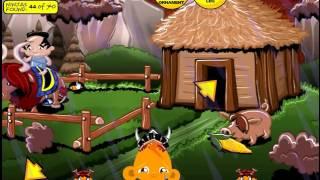 Игра Обезьянка и Самураи прохождение Monkey GO Happy Samurai walkthrough