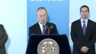 Mayor Bloomberg opens Twitter NYC Office.