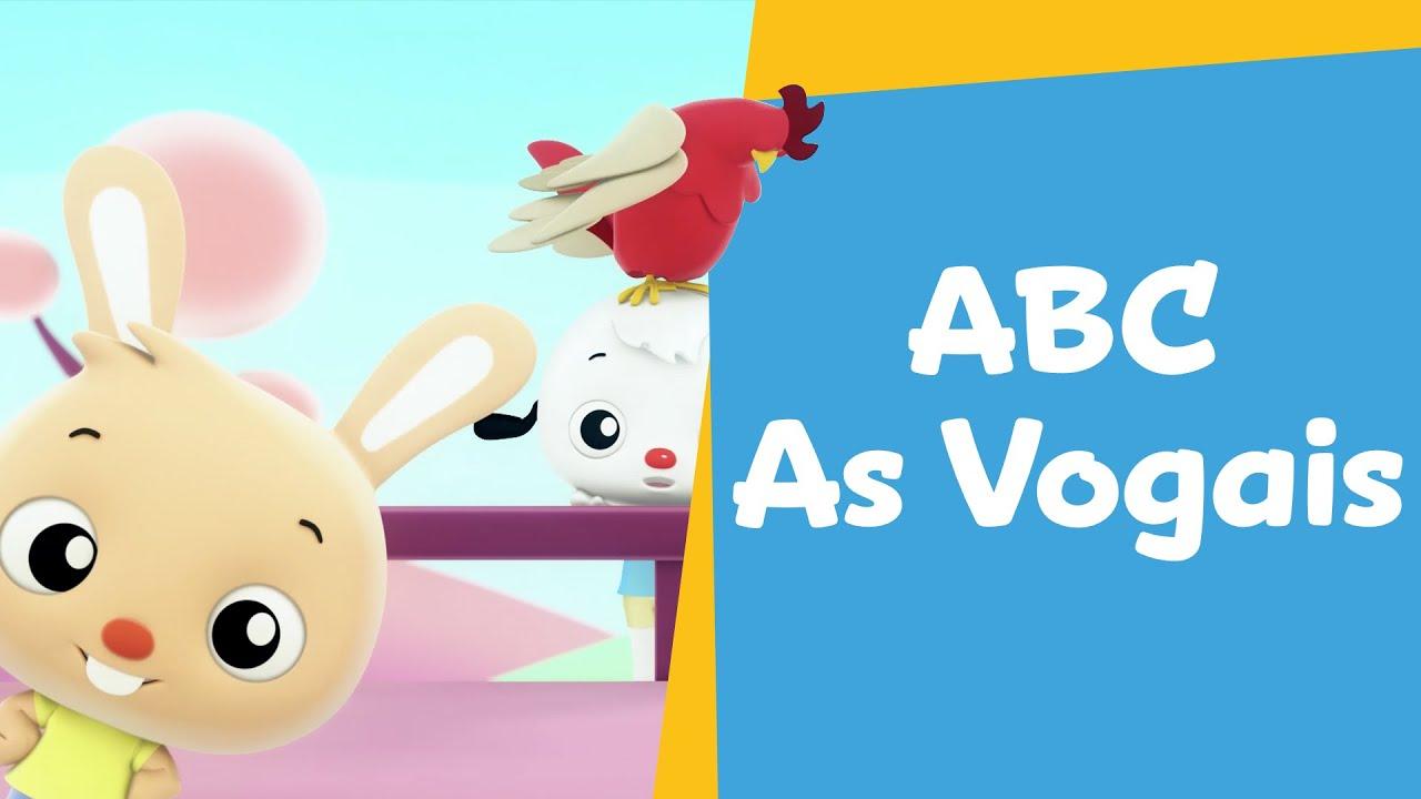 Vamos Cantar com as Vogais! | Desenho Infantil | ABC PlayKids: Ep 01 -  YouTube