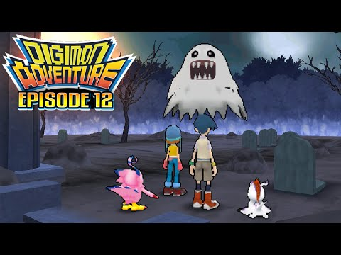 """Digimon Adventure - Ep 12 : """"The Dancing Ghosts! Bakemon"""" [PSP/ENG]"""