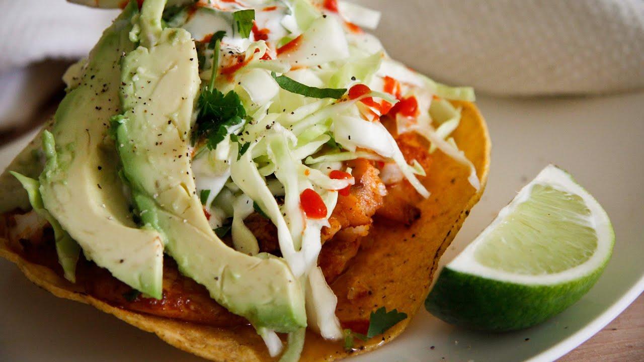 Spicy Fish Tostadas Recipe Chef Julie Yoon Youtube