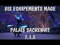 Les Bis Loot en Mage Frost ! Palais Sacrenuit / NightHold