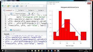 Statistics using R programming 03-08-2018