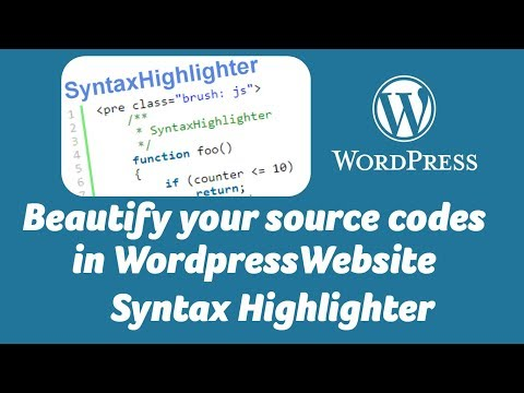 Best Syntax Highlighter Plugin For WordPress Website