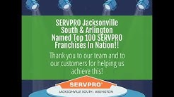 SERVPRO Of Jacksonville & Arlington Rated In The Top 100, (904) 762-8066